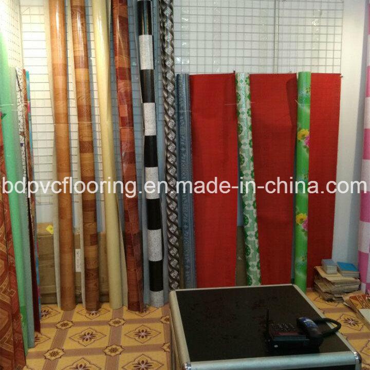 China Red Backing Pvc Flooring 0 7mm