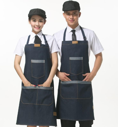 Promotional Printed Cotton Twill / Non Woven / Polyester Kitchen Cooking Apron pictures & photos
