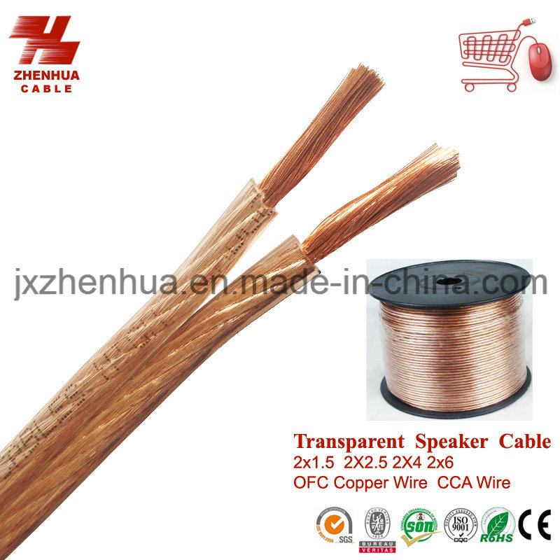 China 16AWG 18AWG 20AWG OFC Speaker Wire Cable Factory Price - China ...