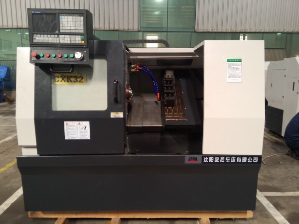 Slant Bed CNC Lathe/Turning Machine with Servo Tool Turret (CXK32)
