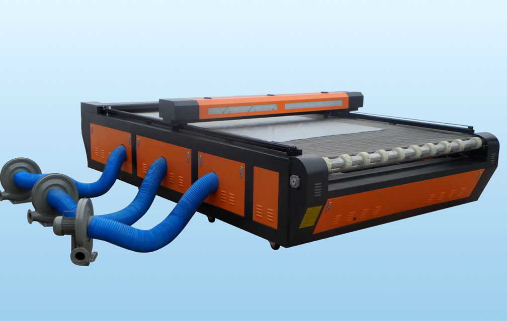 Leather Fabric Cloth Laser Cutting Machine with Auto Feeding System pictures & photos