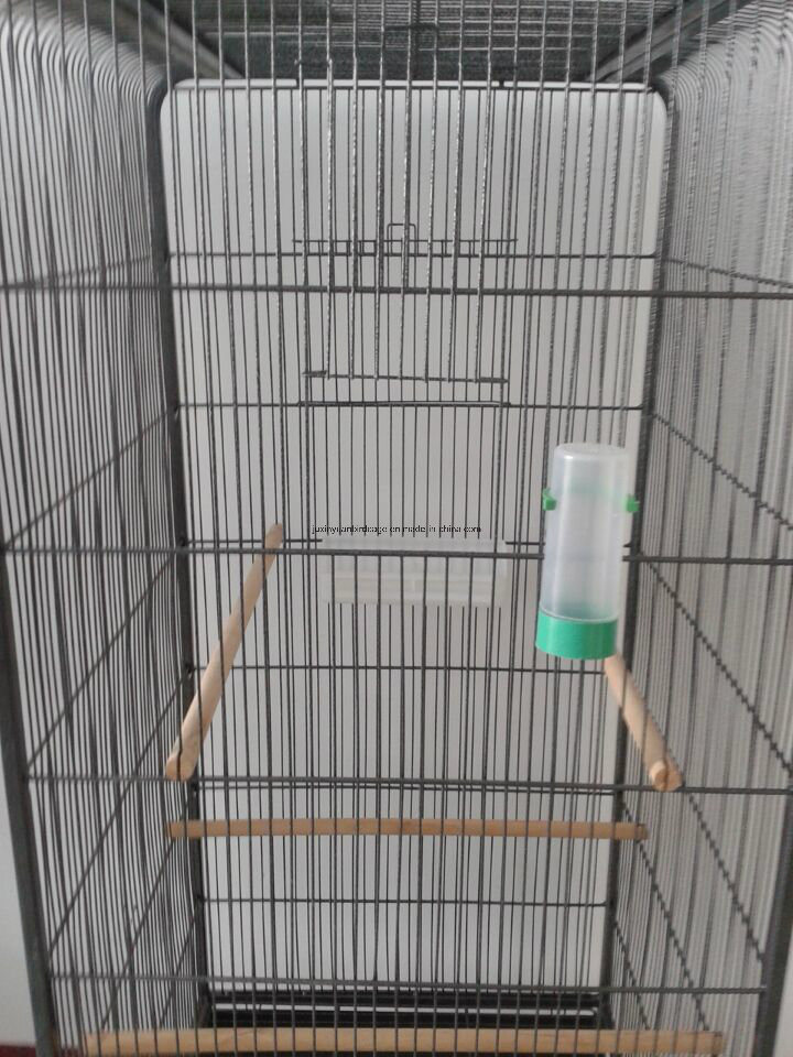 Flat Top Roof Metal Large Bird Cage, Parrot Cage