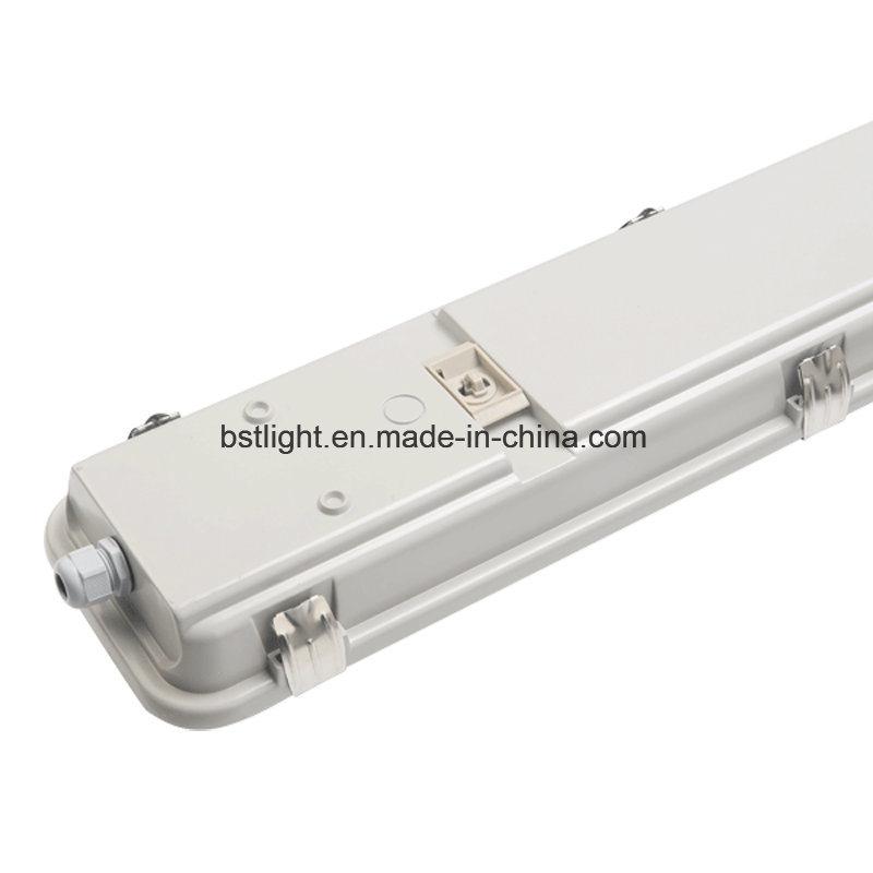 5 Years Warranty T8 4ft Led 2x36w Ip65 Waterproof Outdoor Wall Light Fixture