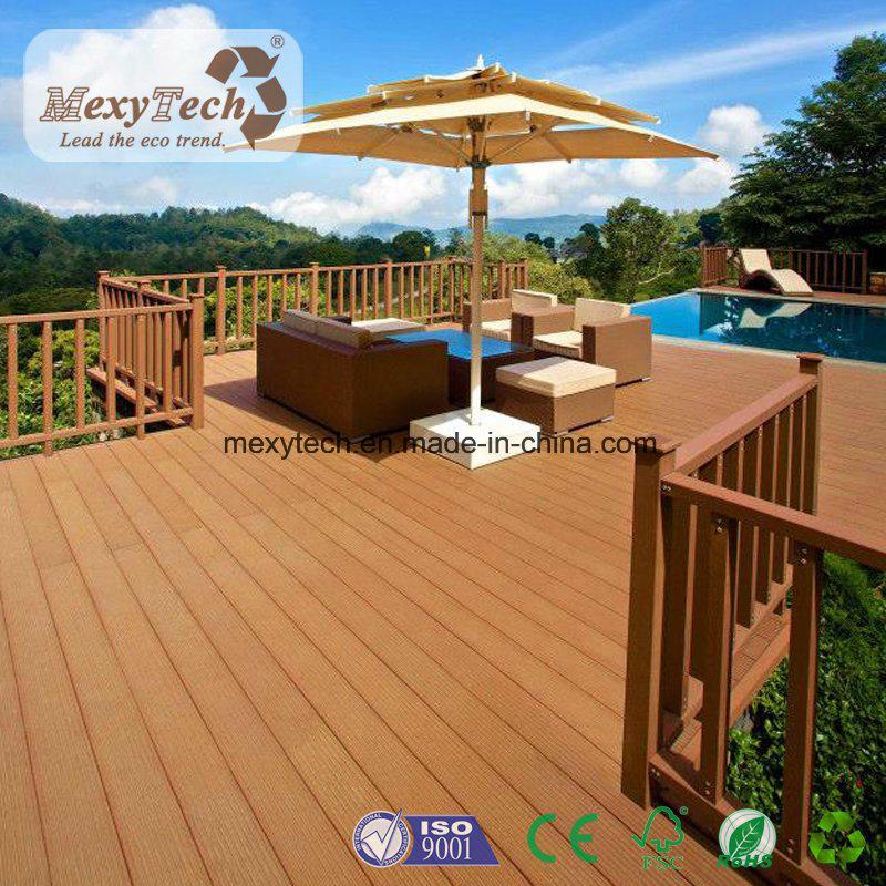 Foshan Composite Wood Easy Clean Flooring Decking