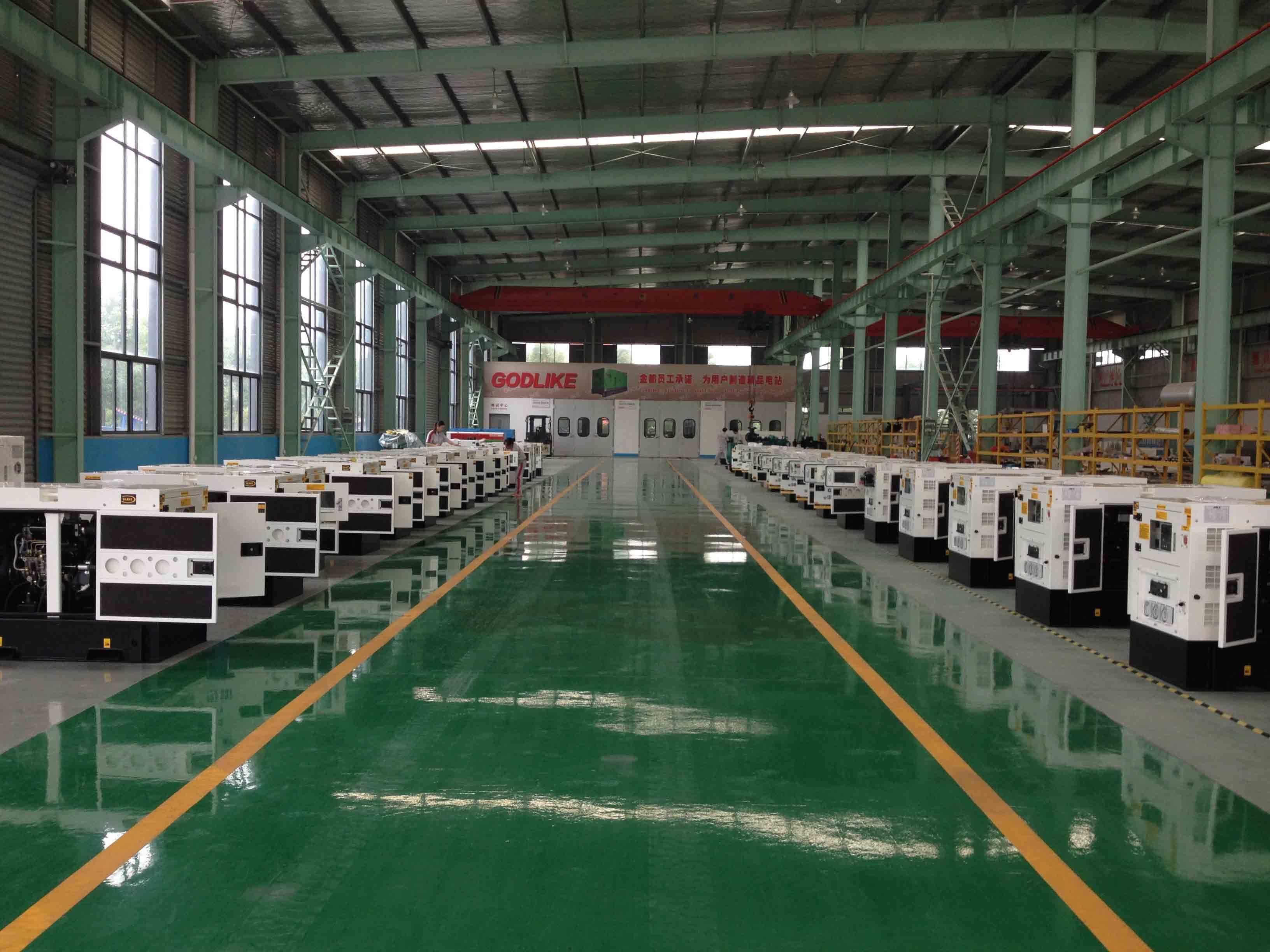 China Diesel Genset manufacturer Generating Set Generator