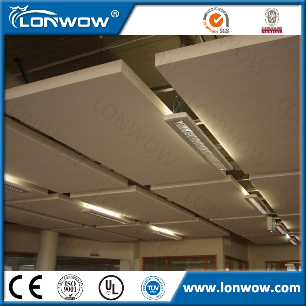 China High Quality Fiberglass Insulation Ceiling Tiles China