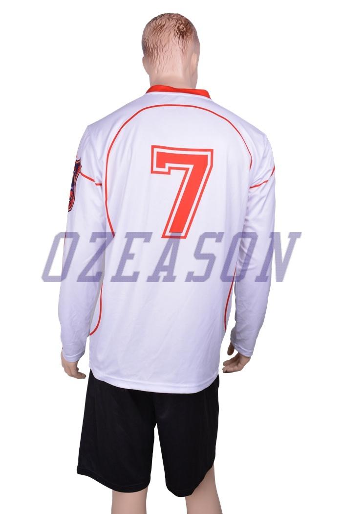 ec27efe1890 Design Custom Soccer Goalkeeper Jersey Long Sleeve Goalkeeper Shirt (S014)