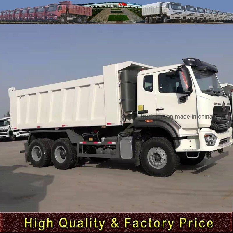 Durable Heavy Duty Dump Truck , Sinotruk Howo 6x4