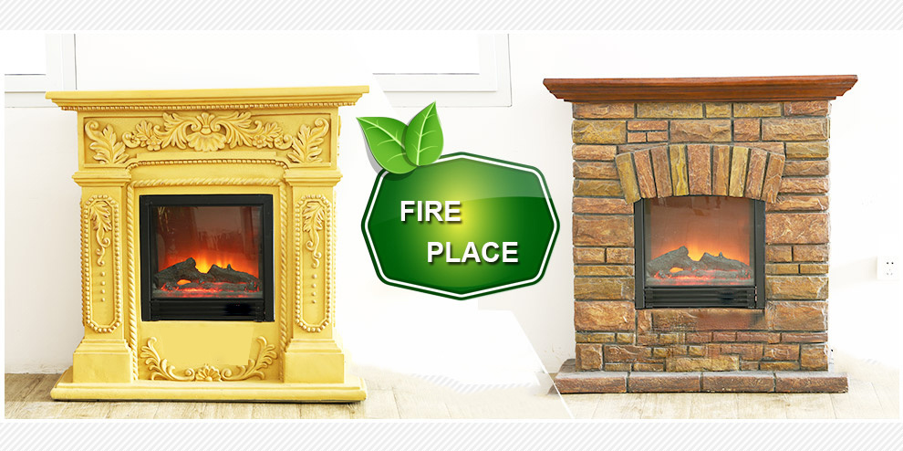 China 2018 Modern Wall Heater Remote Control Electric Fireplace