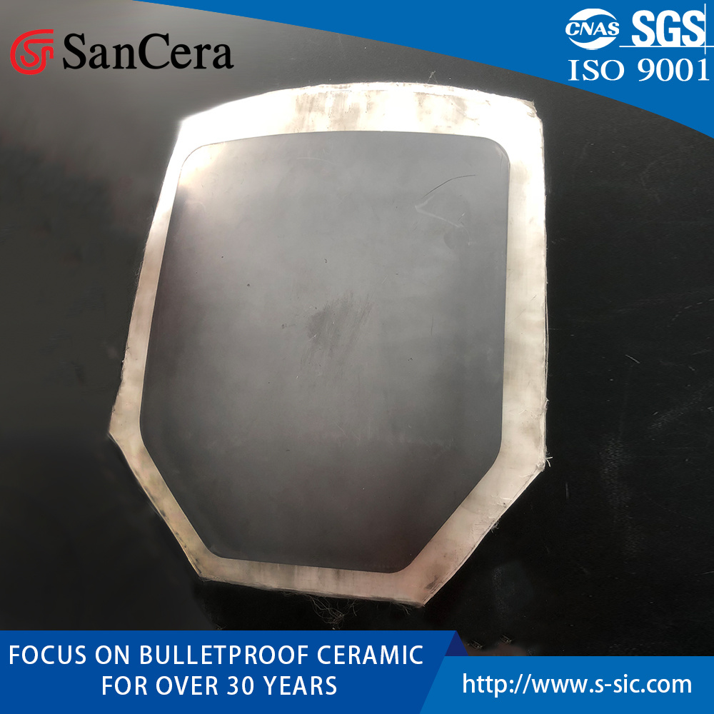 Pressureless Sintered Boron Carbide Bulletproof Armor Vest Ceramic pictures & photos