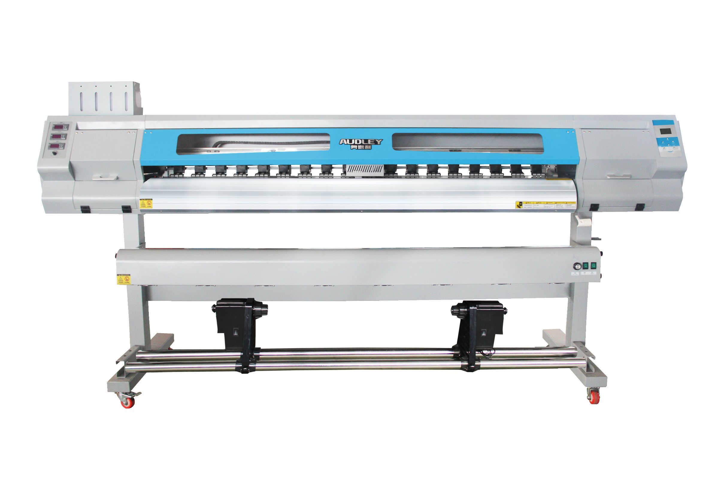 China audley dx5 4 color small eco solvent wall sticker printing machine for sale china wall sticker printing machine small sticker printing machine