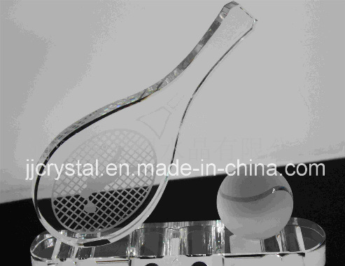 Crystal Glass Tennis Combination Model