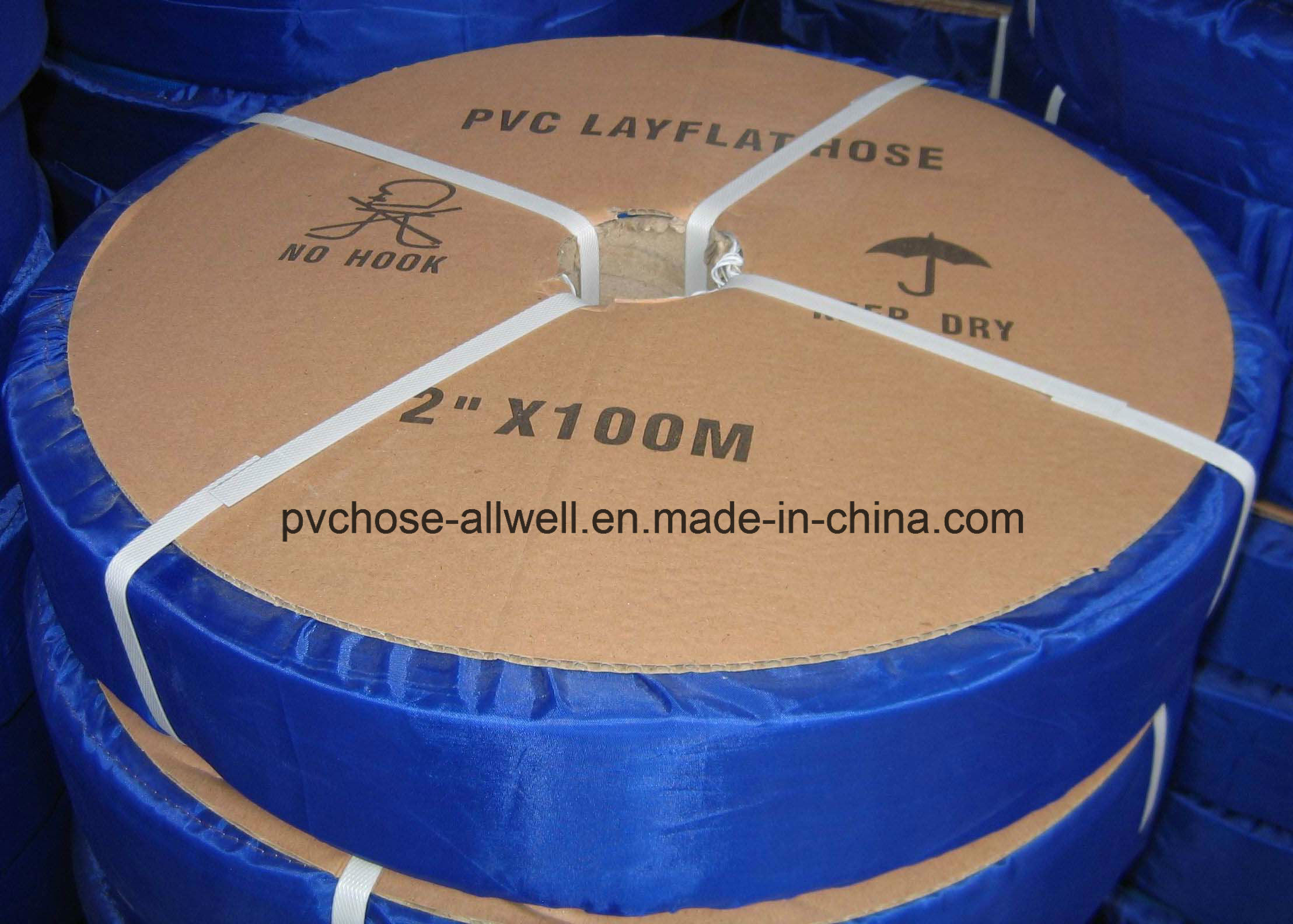 China Plastic PVC Agricultural Irrigation Water Lay Flat Hose ...