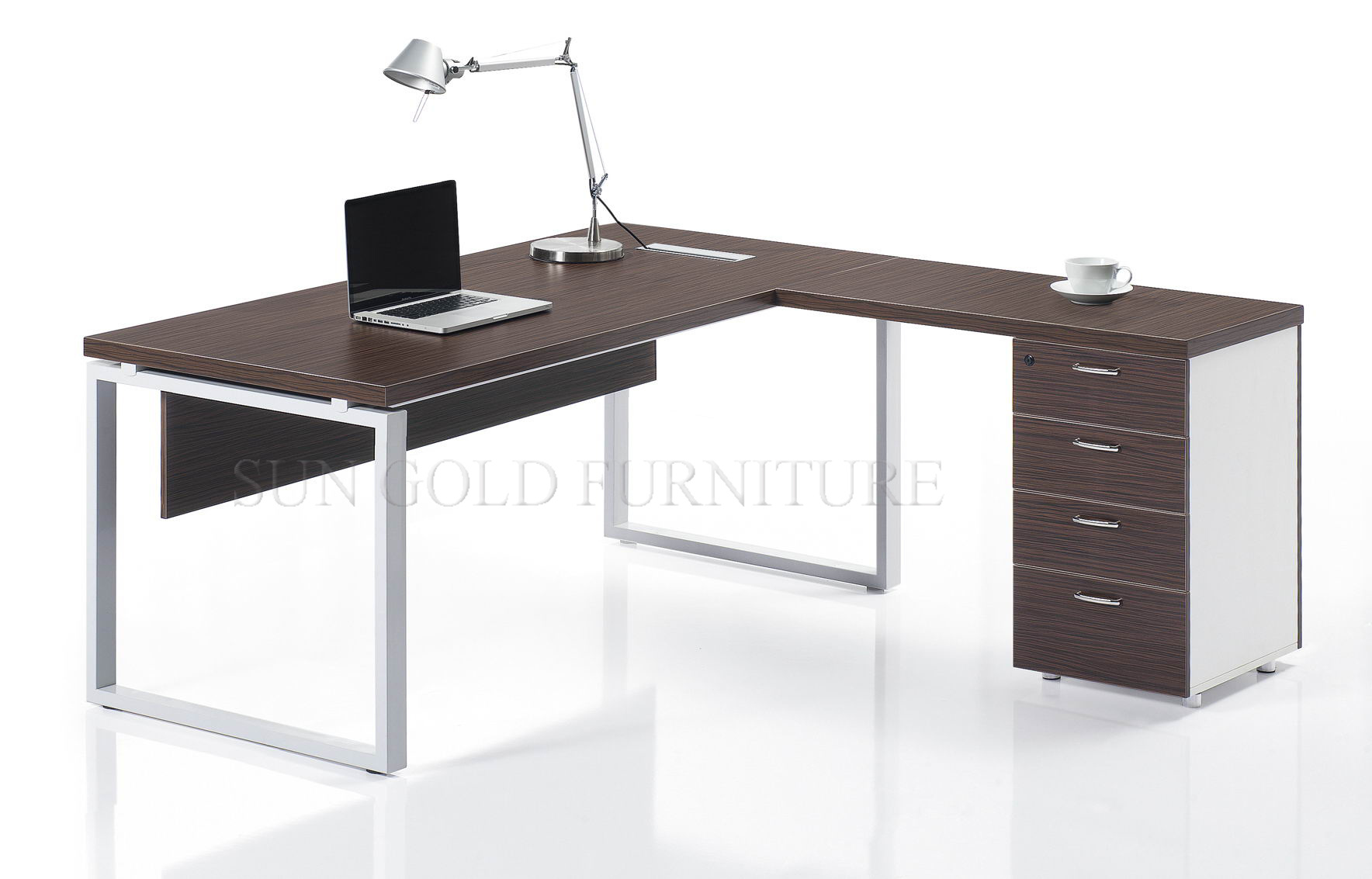 ambience desk ultra executive modern black product dor