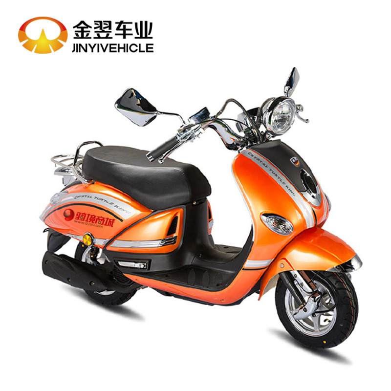 China New Big 125cc Automatic Cruiser Petrol Gas Motor Scooter