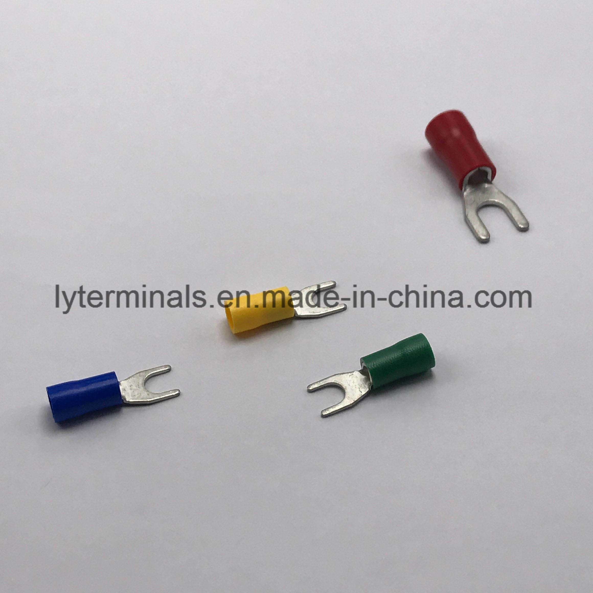 China Insulated Spade Terminals Black Photos & Pictures - Made-in ...