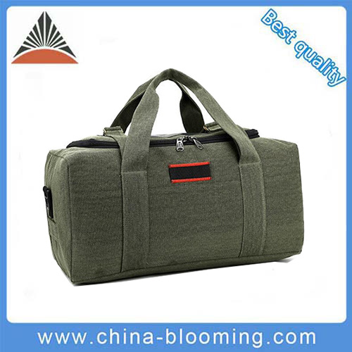 8cdeabbaea China Large Capacity Army Green Carrier Canvas Travel Duffel Bag ...