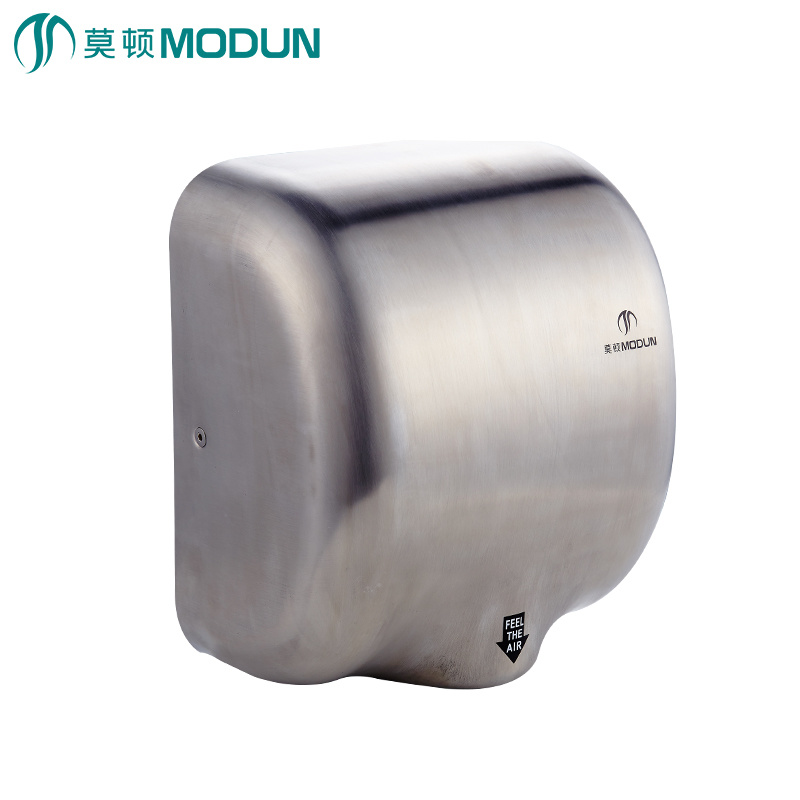 Hand Dryers The Best Aike Commercial Small Intelligent 304 Stainless Steel Induction High-speed Airflow Hand Dryers Bathroom Mini Machine Ak2803a Special Summer Sale