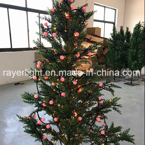 led ball lights winter holiday decorations led small christmas tree lights