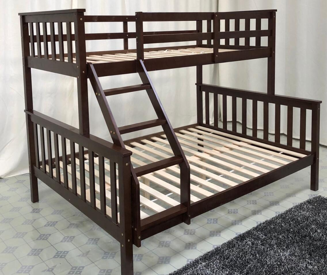 Picture of: China Kids Pine Wood Triple Bunk Beds With Stairs China Child Bunk Bed With Stairs Kids Cheap Triple Bunk Beds Sale