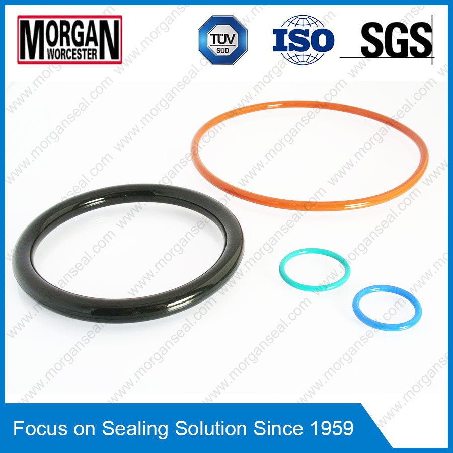 Jisb2401/As568/BS1516 Standard NBR/FKM/PTFE/PU/Silicone Rubber O Ring
