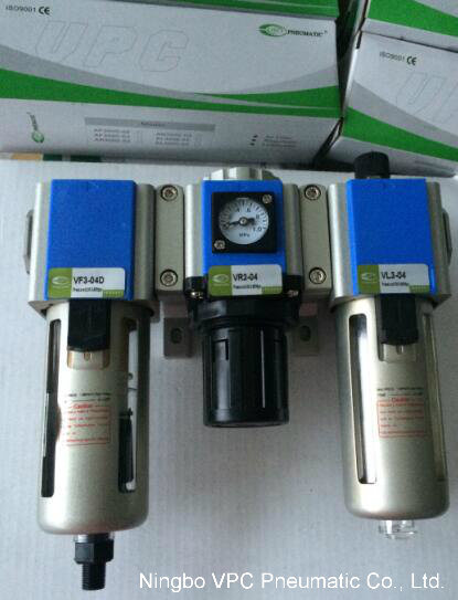 China V Series Air Source Treatment Unit with Air Gauge Inside