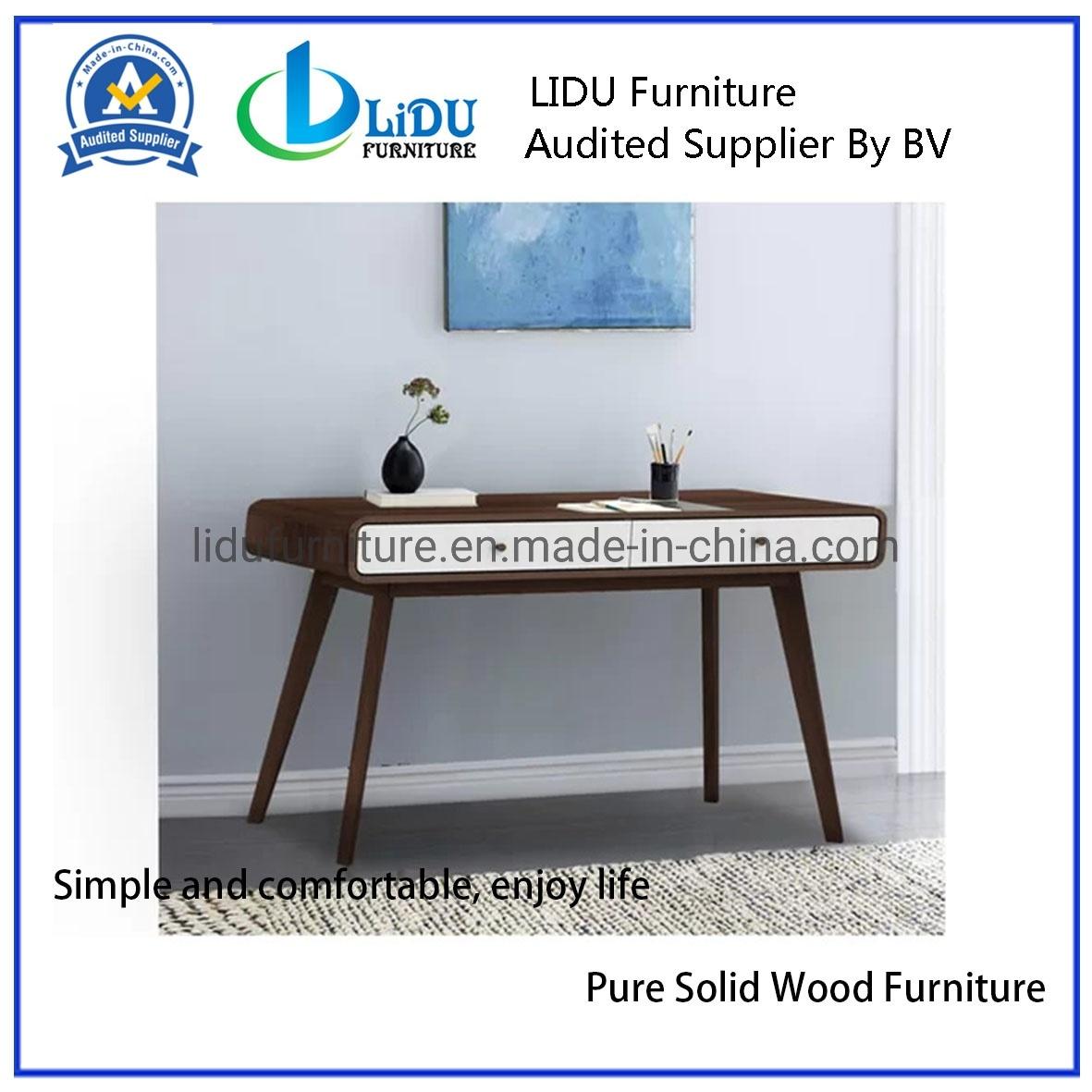 [Hot Item] Writing Desk Study Desk Dressing Table Two Oak-Effect Drawers  Office Design Office Desk Oak Wooden Table