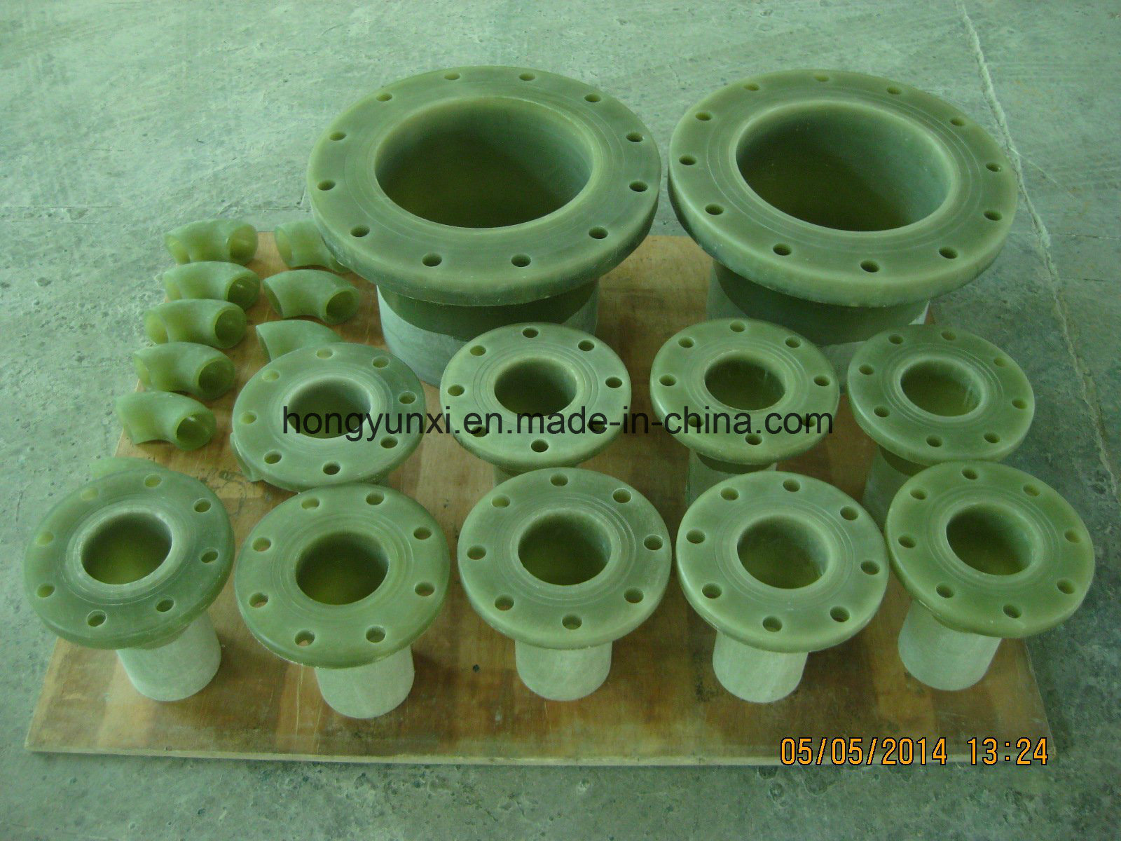 [Hot Item] FRP or GRP Flanges Available Upon Customer′s Drawings