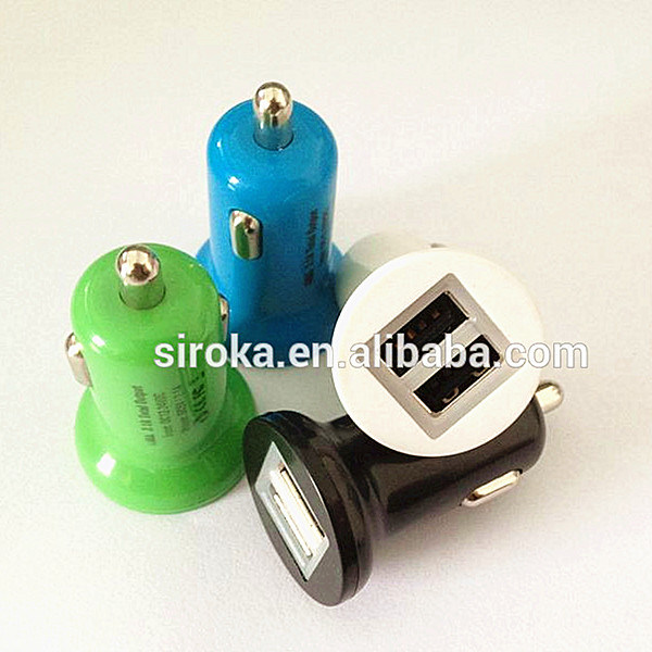 Newest 2-Port USB Car Charger for Cellphone pictures & photos