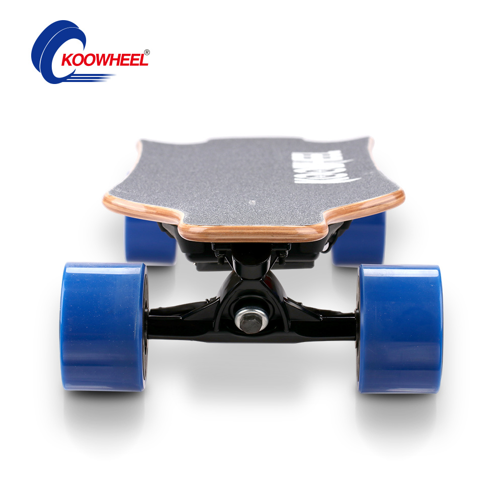 No Foldable Smart Four Wheel Electric Balancing Skateboard / Longboard
