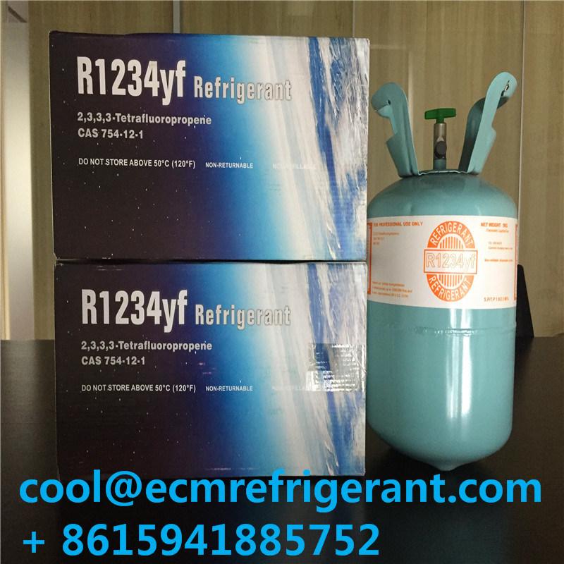 China Eco Friendly Refrigerant Gas R1234yf Packing In 5kg