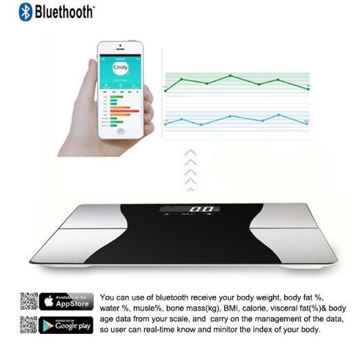 Large Screen Glass Hotel Room Digital Electronic Personal Body Scale