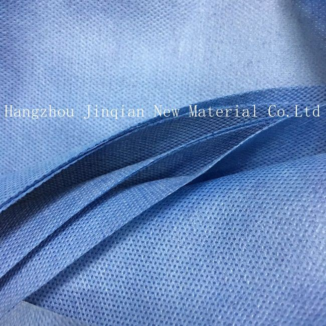 SMS Home-Textile Disposable Surgical Gown Material SMS Nonwoven Fabric pictures & photos