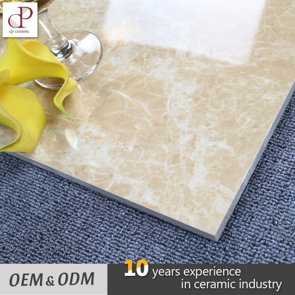 China Polished Glazed Vitrified Tiles Light Emperador Ceramic Tiles ...