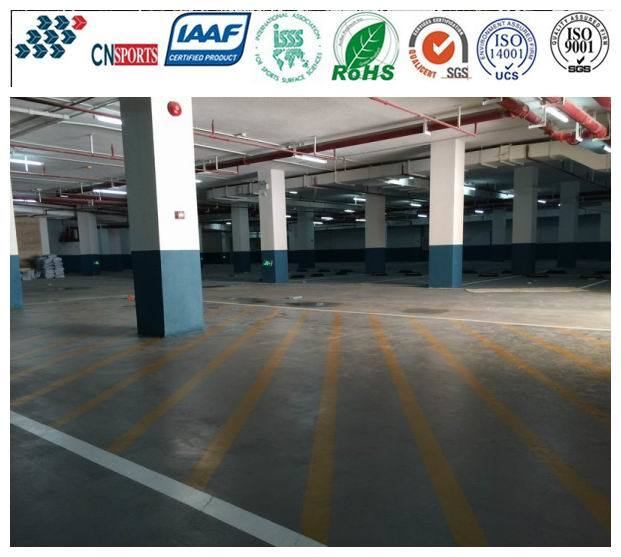 [Hot Item] Cushion Nonslip Polyurea Coating for Garage Flooring and Parking  Lot