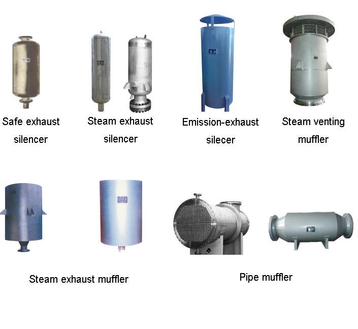 China Steam Exhaust Fan Industrial Silencers Muffler