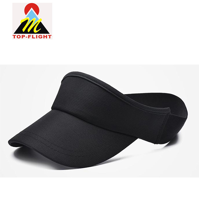 China OEM Made Closed Back Sun Visor Golf Hat with Elsatic Band - China Cap 1d7a6f1edcf