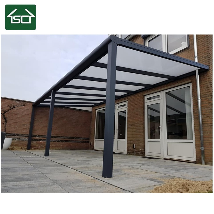 China Hot Patio And Terrace Cover Aluminum Pergola With Polycarbonate Roof China Terrace Roof Patio Roof