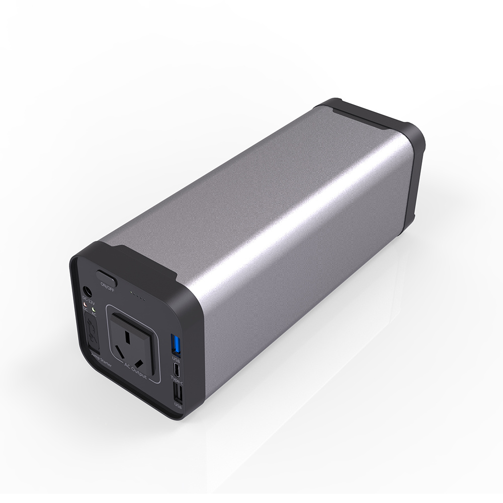 [Hot Item] 2018 New Trend Power Bank 40000mAh Hand Power Lipo Battery Power  Supply AC 220V 150W Output