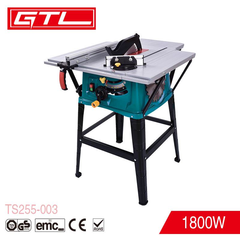Hot Item 1800w 255mm Multi Purpose Sliding Table Saw For Wood Working