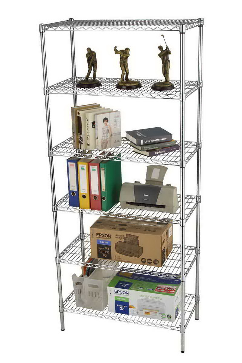 China Commercial 5 Tiers Adjustable Storage Rack Heavy Duty