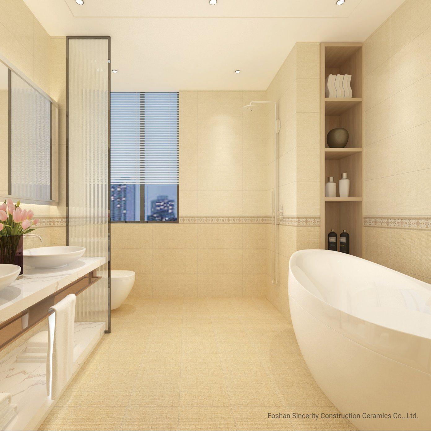 [Hot Item] Beige Luxury Color Polished Glazed Porcelain & Ceramic Tile for  Wall and Floor