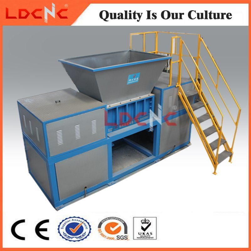 Waste Plastic Bottle Drum Shredder Machine for Sale with Cheap Price
