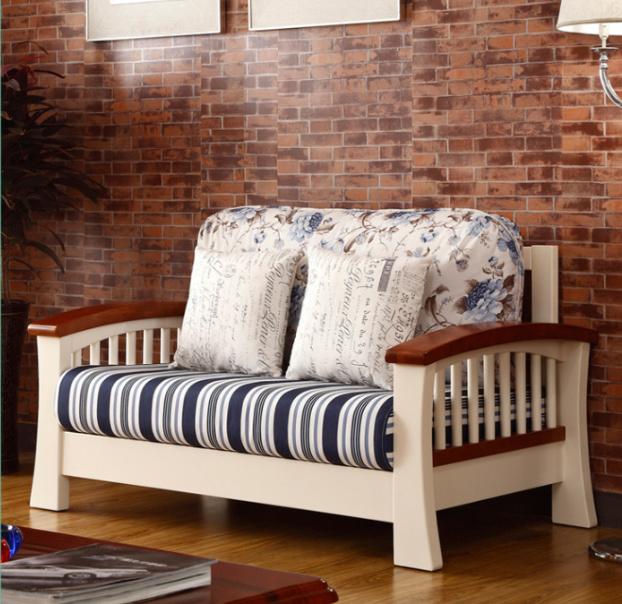 [Hot Item] Latest Design Wooden Sofa Furniture Living Room Sofas