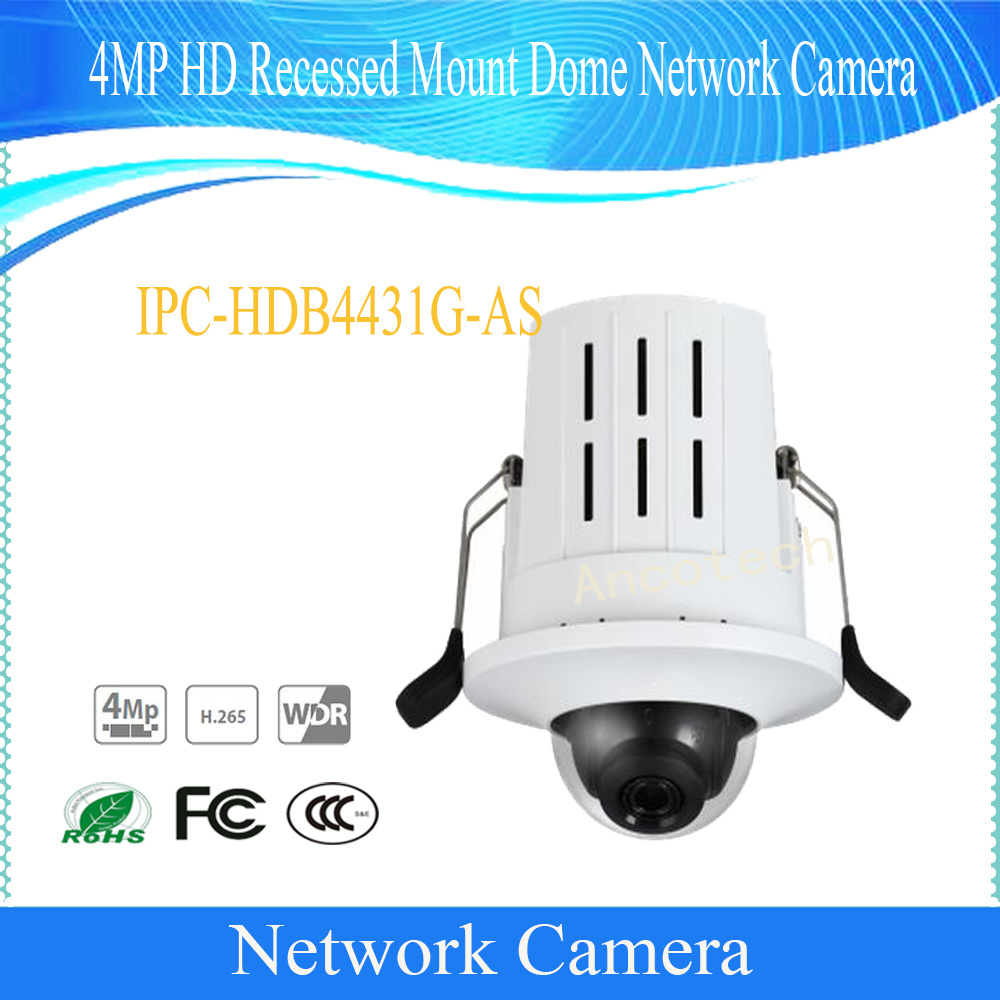 China HD CCTV Security 4MP HD Recessed Mount Dome Network Camera  (IPC-HDB4431G-AS) Photos & Pictures - Made-in-china.com