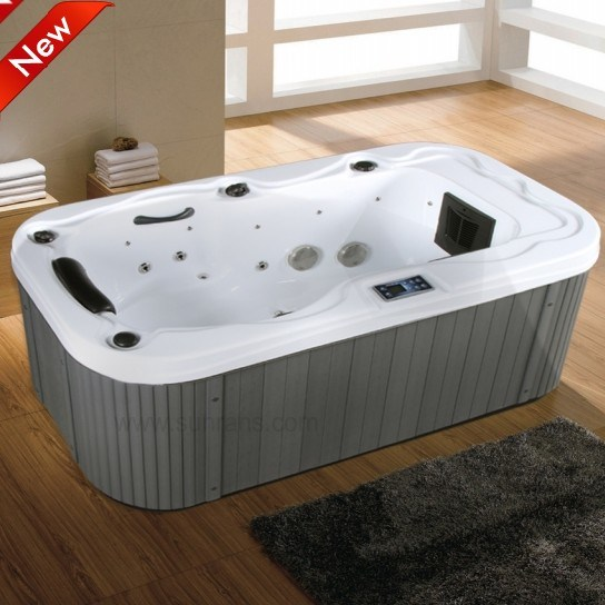 China Hot Sale Luxury Balboa System Mini Indoor One Person Hot Tub Small Hot Tub For 1 Person Sr841 China 1 Person Hot Tub One Person Hot Tub