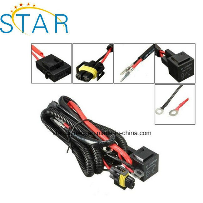 china factory universal car fog light wiring harness kit bar with fuse and  relay switch wire harness - china car light bar wire harness manufacturers,