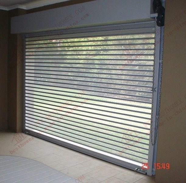 Charmant China Polycarbonate Transparent Crystal Roller Shutter Door (BH SD10)    China Roller Shutter, Roller Shutter Door