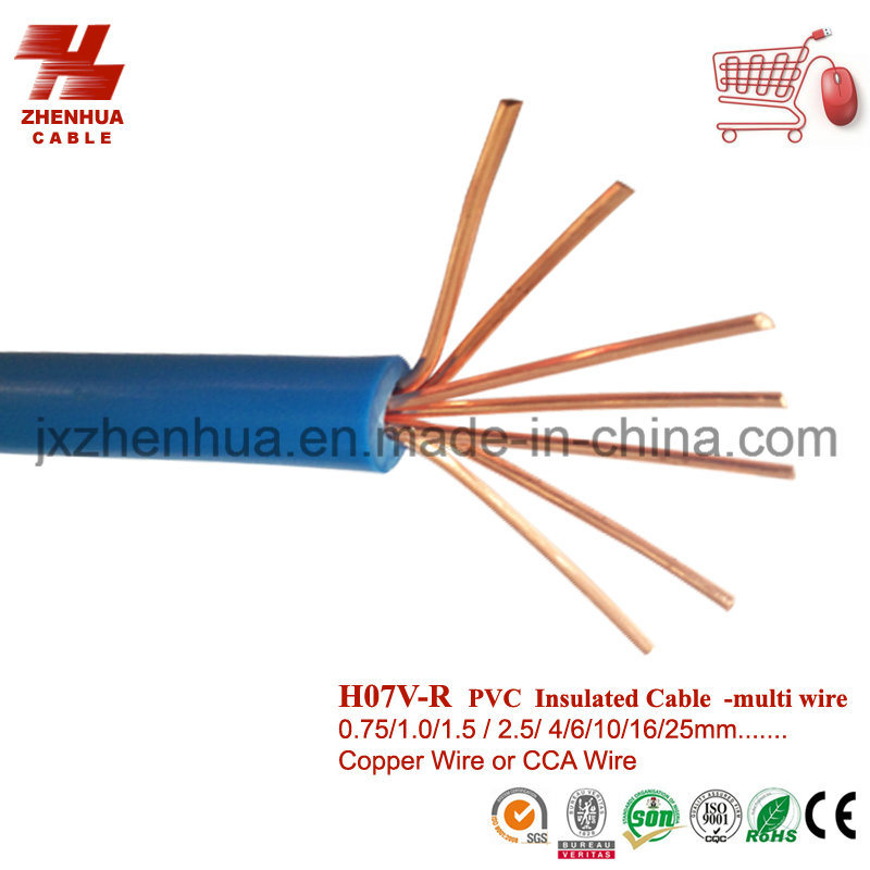 China 16mm 25mm 35mm Multi Wire Conductor Electrical Cable - China ...