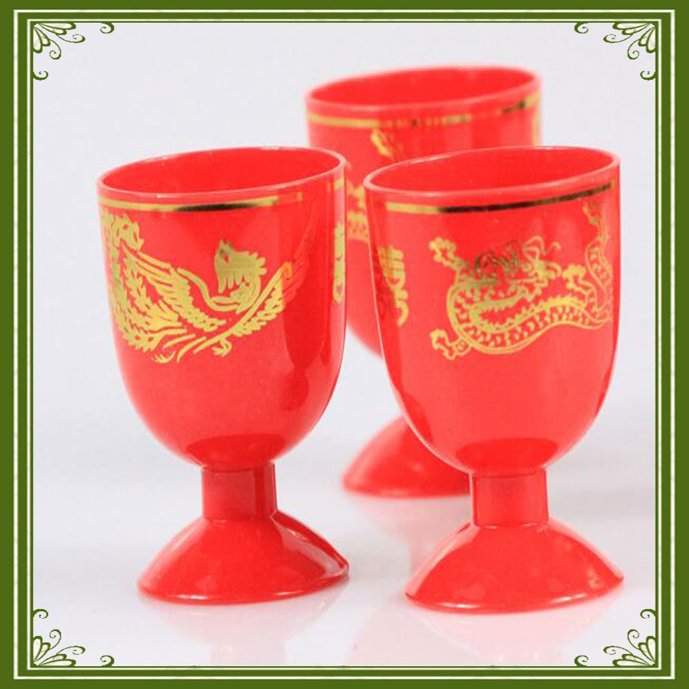 Factory Outlet Hot Stamping Foil for Wedding Drink Plastic Cup